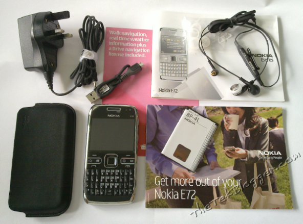 Nokia E72 unboxing and 3 part review